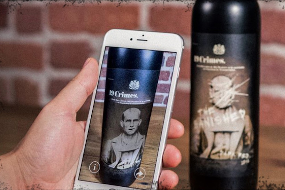 AR Wine Labels Provide Consumers With Animated, Historic, & Zombie-Filled Tales