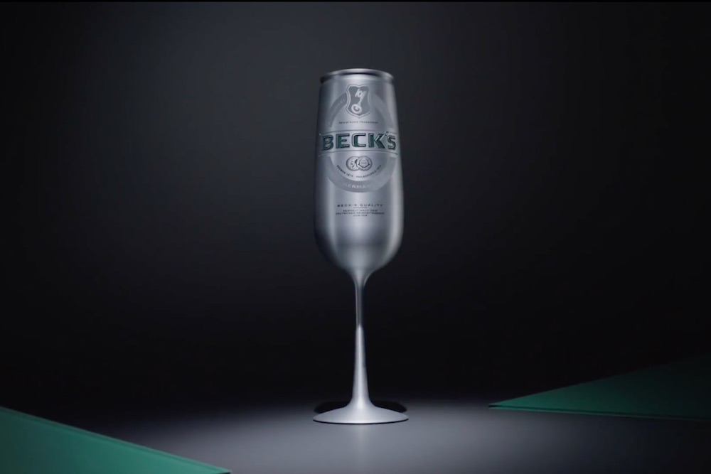 Beck's Upgrades Its Beer Can In An Effort To Appeal To Luxury-Oriented Consumers
