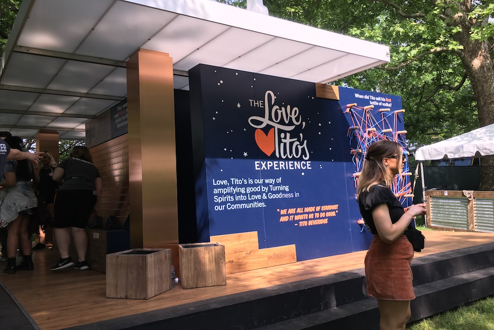 Digital Time Capsule Engages Philanthropic Festival-Goers One Year Later