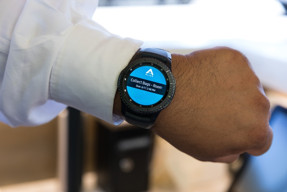 Smartwatch Improves Hotel Service With Employee Alerts