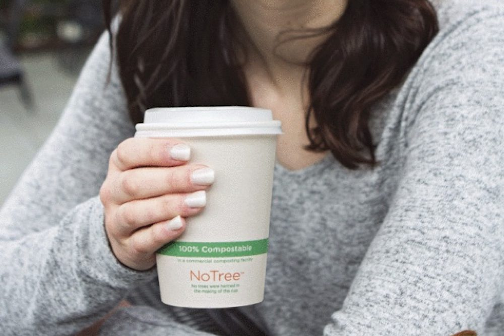 Plant-Based Cups Can Handle Heat And Be Composted