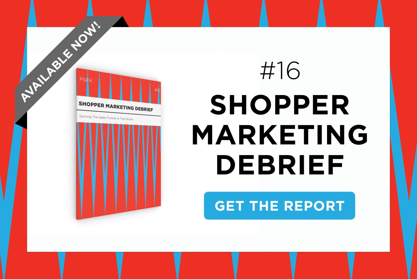 PSFK Launches The Shopper Marketing Debrief