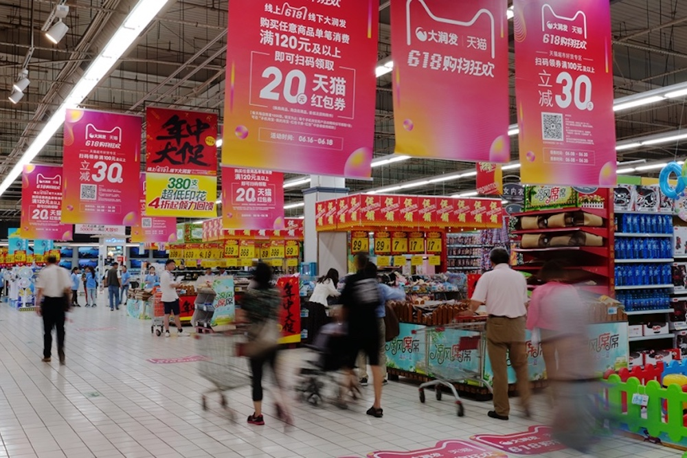 Hypermarket Chain Can Deliver In Store Orders Within One Hour