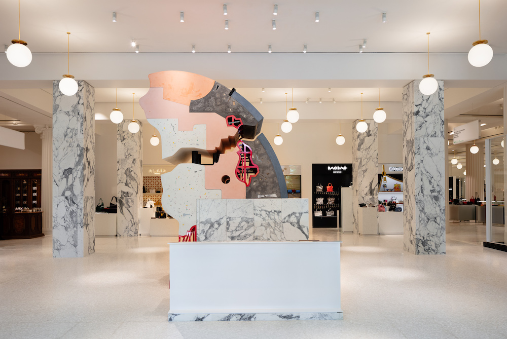 Selfridges Turns Its Flagship Location Into A Sculpture Gallery
