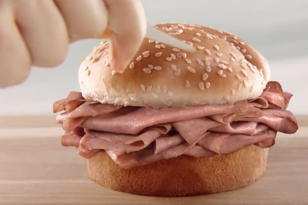 Arby's Advertised The World's Biggest Ad On A Sesame Seed