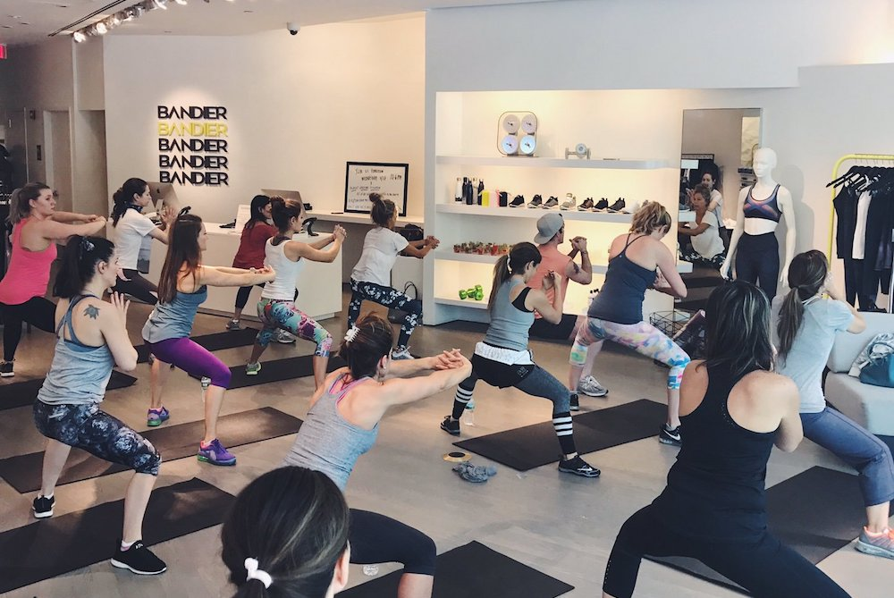 Bandier's New In-House Fitness Studio Offers Guests Classes, Music, Food And More