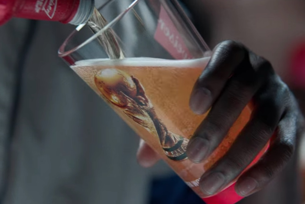 Budweiser's Special Red Cups Light Up When World Cup Fans Cheer