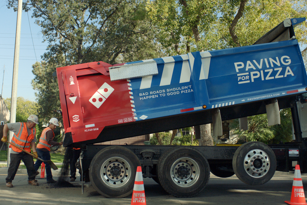 Domino's Is Fixing Potholes To Ensure Safe Transport For Pizza