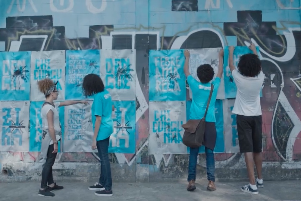 Habitat For Humanity Uses Insecticide-Emitting Posters In Campaign Against Mosquitos