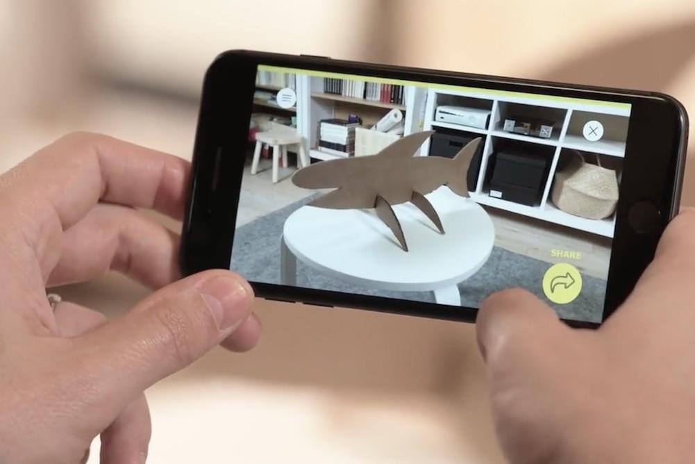 IKEA's AR App Helps Kids Dream Up Cardboard Box Creations