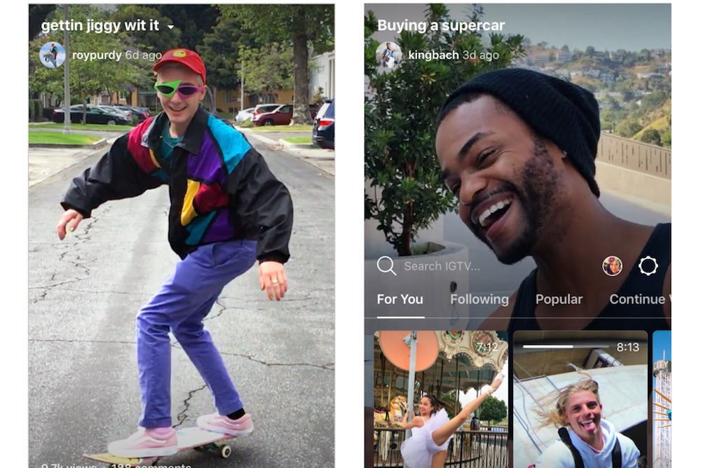 Instagram's New App Lets Users Post Long-Form Video Content