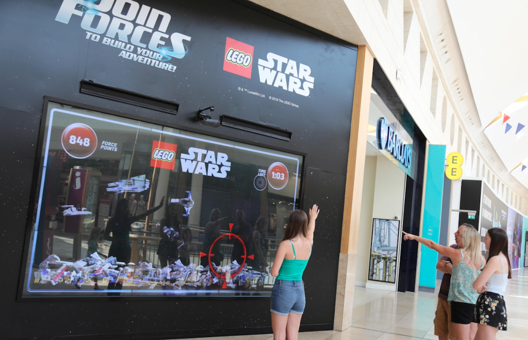 LEGO Ad Uses Sensor Technology To Let Passers-By Wield The Force