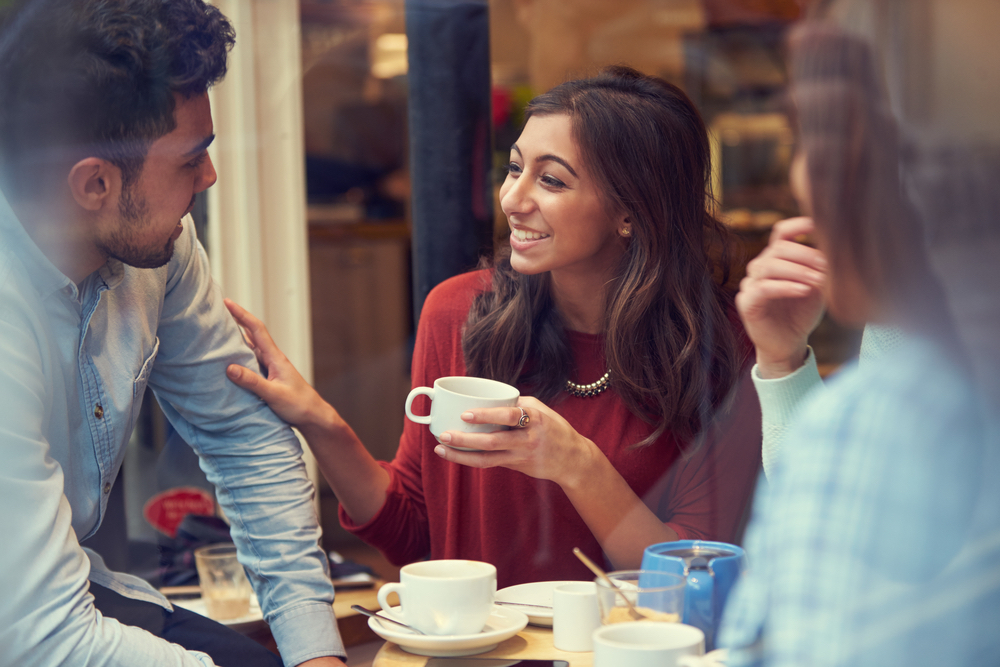 Coffee Shop Offers Customers Hot Drinks And Mental Health Counseling