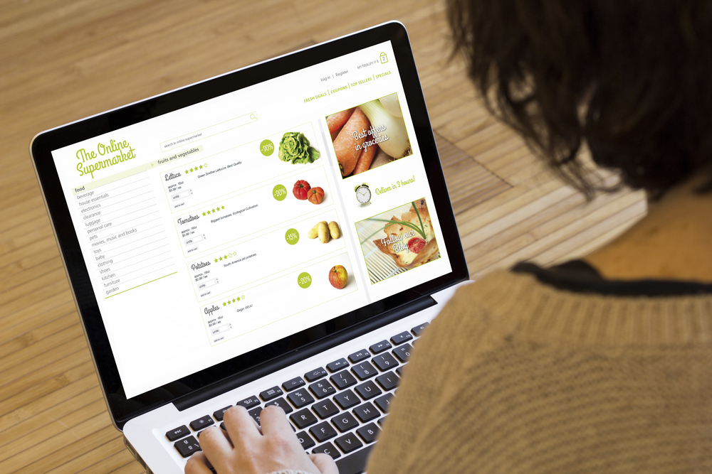 Grocery Chain's Virtual Store Offers Customers Fast Delivery Of Healthy Food