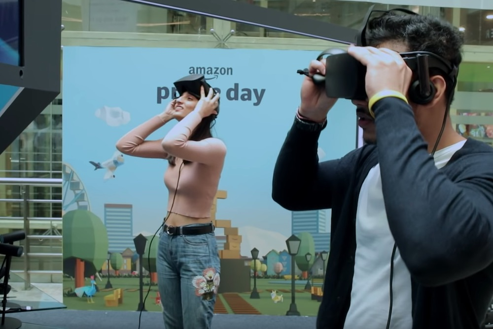 Amazon VR Booths Let Users Interact With Products During Prime Day