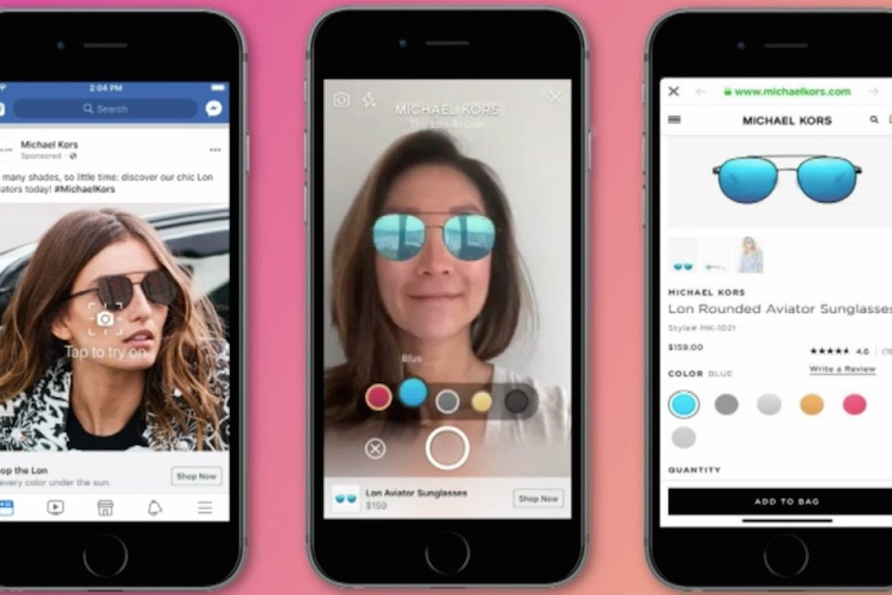 Facebook Allows Consumers To Test Products Through AR-Enabled Ads