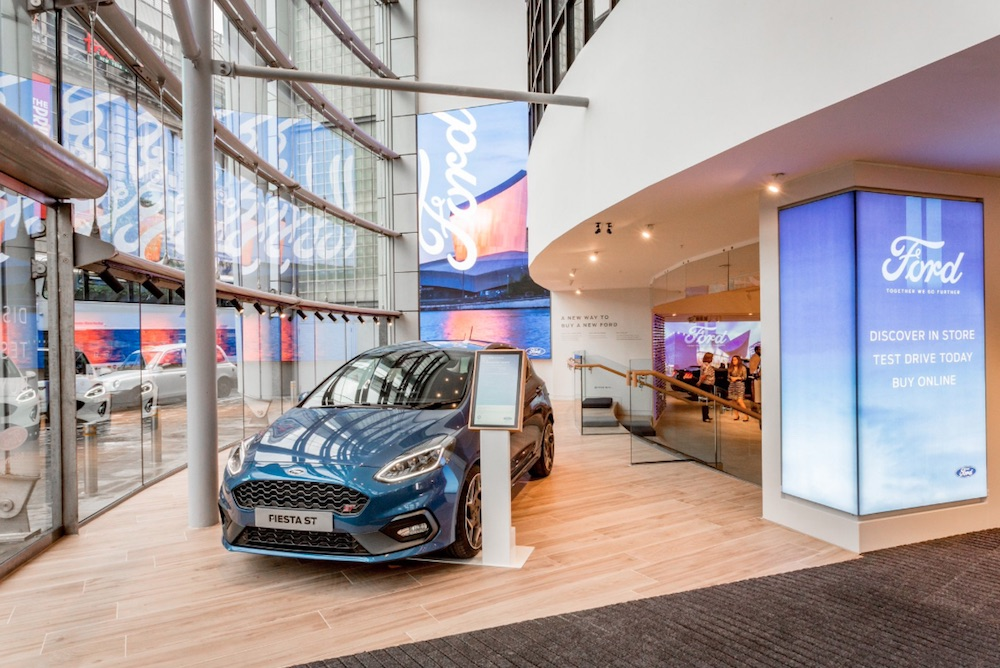 Ford Offers Shoppers Interactive Showroom Experiences