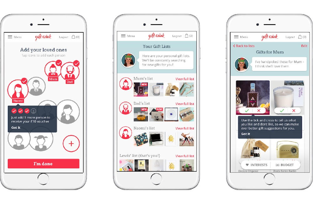 Data-Driven Platform Helps Shoppers Find Perfect Present Through Simple Questionnaire