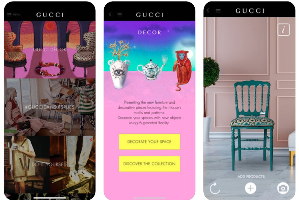 Gucci Generates An Immersive Home Design Experience For Its Shoppers