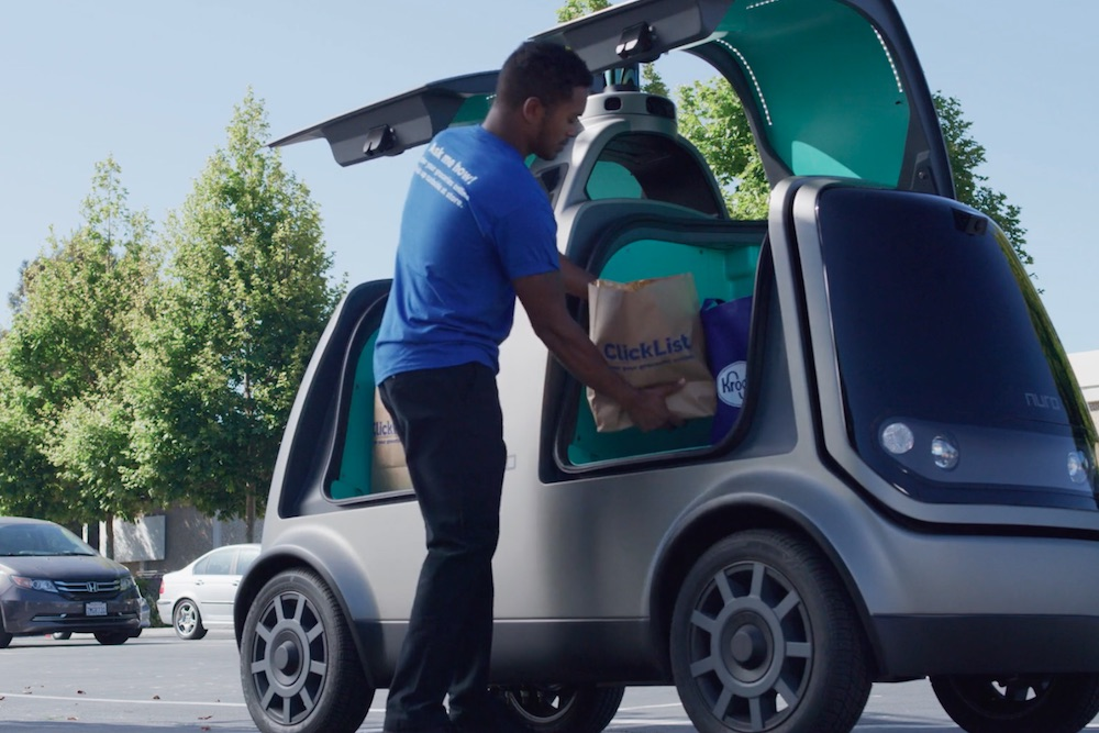 Kroger's Home-Delivery System To Implement Driverless Vehicles