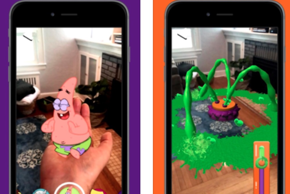 Nickelodeon Fans Can Experience Slime At Home On Network's AR App