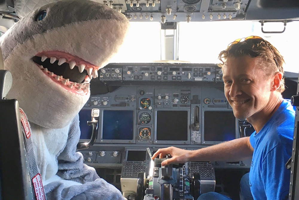 Southwest Airlines Invites Shark Week Superfans To In-Flight Premiere