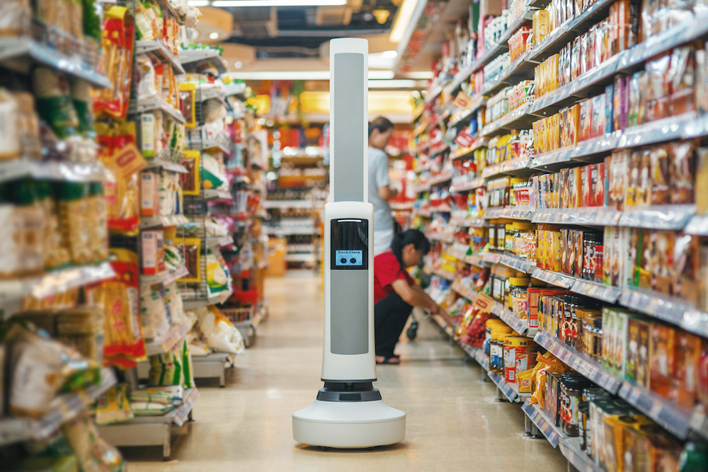 Machine-Learning Robot Simplifies Retailers' Inventory Audits