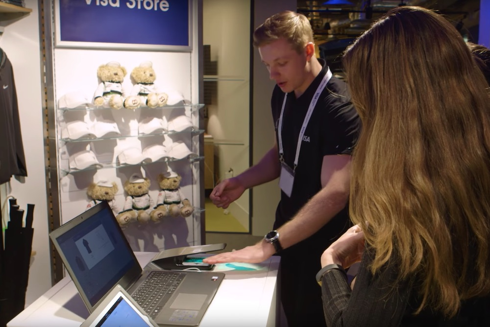 Visa Pop-Up Educates Consumers About Contactless Payment
