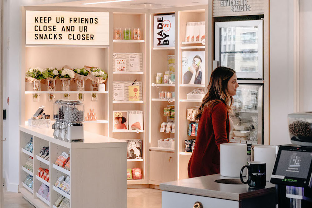 WeWork Promotes Its Members' Products In Rotating Shop