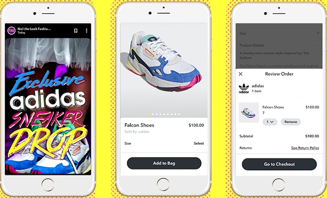 Adidas Targets Female Sneaker Consumers With Shoppable Snapchat Show