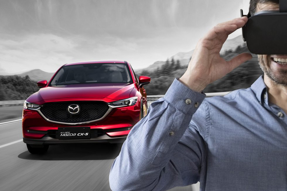 Mazda Virtual Test Drive Lets Prospective Buyers Journey Through The Italian Alps