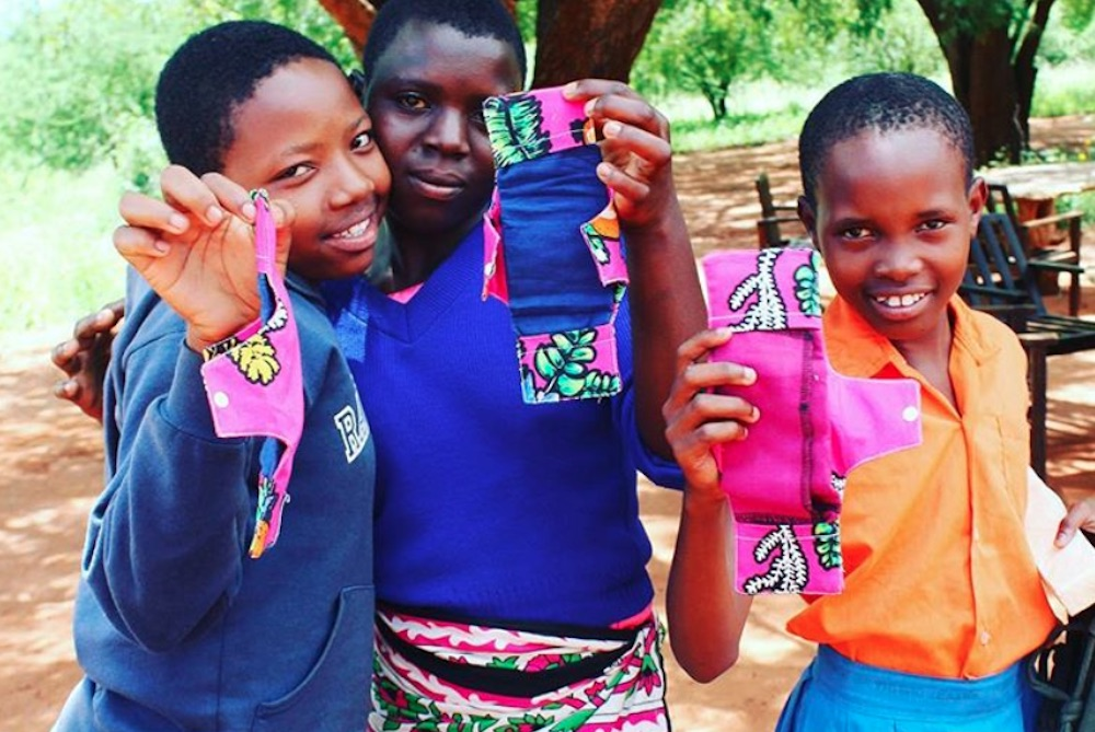 ASOS Is Helping Keep Kenyan Women In School By Providing Reusable Sanitary Pads