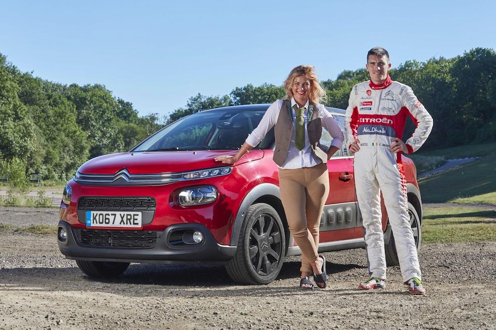 Citroën Filmed Dating Sessions Hosted Inside Its C3 Model As It Zipped Around A Racetrack