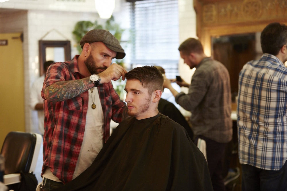 J. Crew's Men's Store Features In-House Barber Services