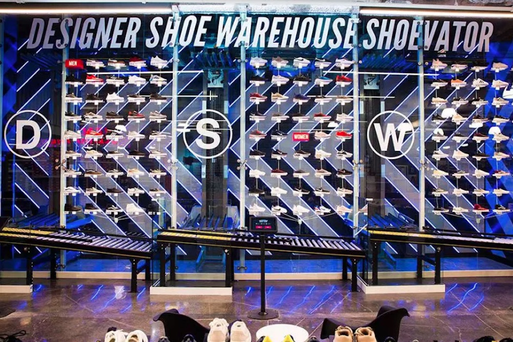 Las Vegas DSW Shoppers Can Order From Tablet-Controlled Shoe Elevator