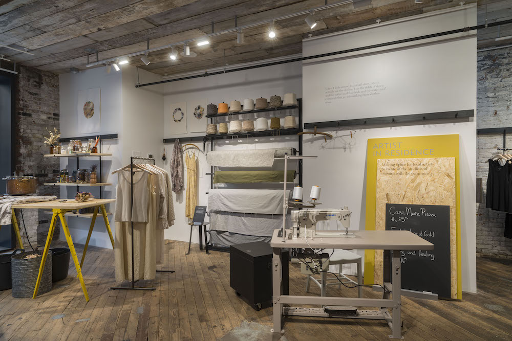 Inside Eileen Fisher's New 'Experiential' Store: Fighting Retail Disruption With Artists In Residence, Mindfulness Workshops And Recycled Clothes