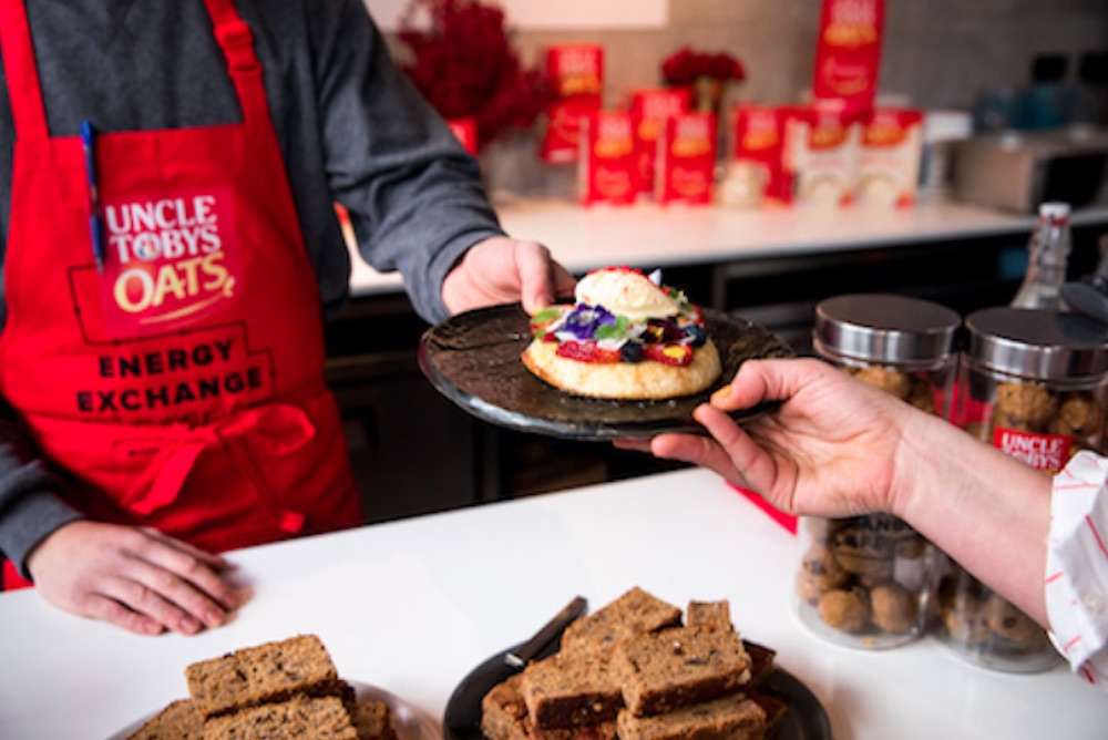 Pop-Up Cafe Rewards Customers' Exercise By Letting Them Trade Steps For Snacks