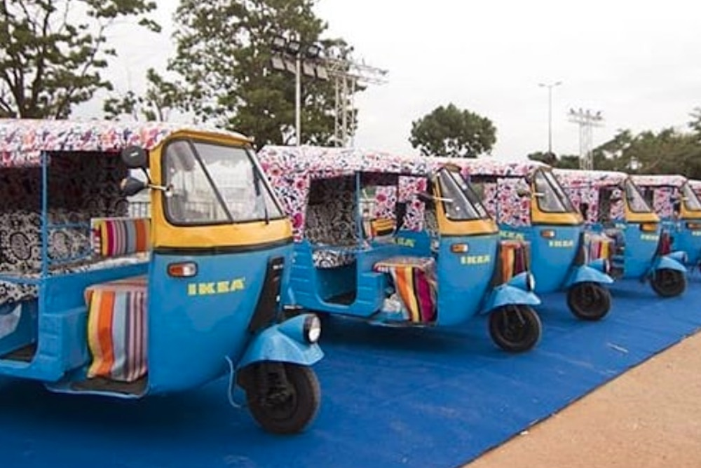 IKEA To Offer Delivery By Solar-Powered Rickshaw At First Indian Location