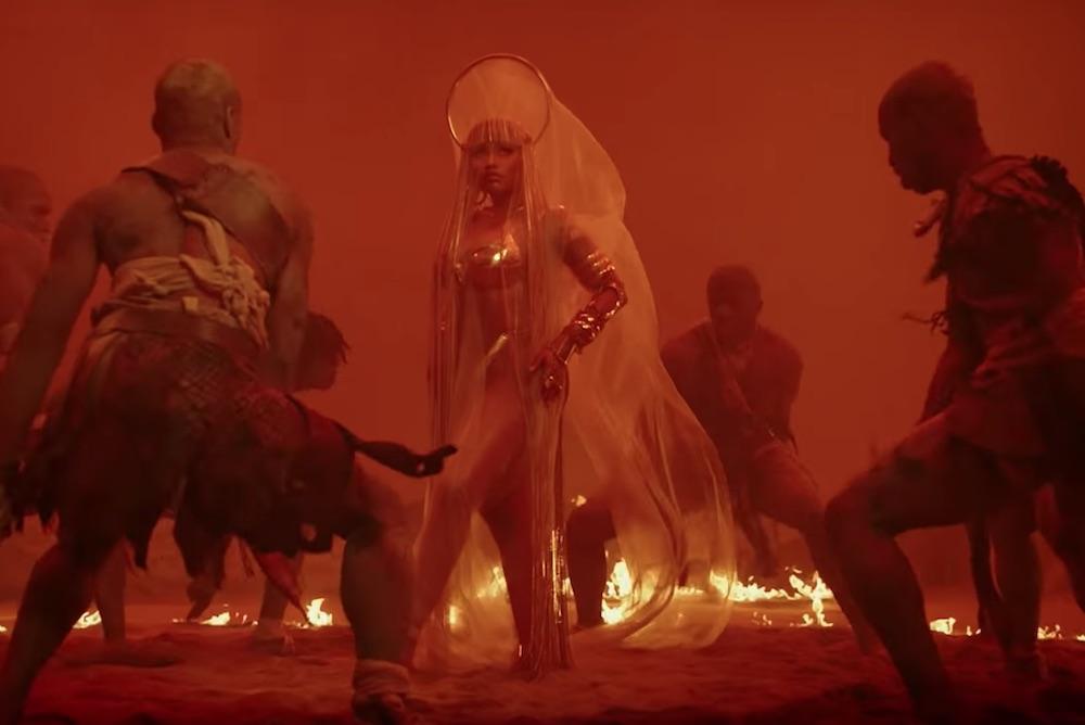 Shoppable AR Lens Nudges Nicki Minaj Fans To Her Album Web Store