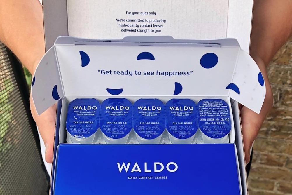 Contact Lens Subscription Service Offers Customers Patented Formula And In-House Opticians