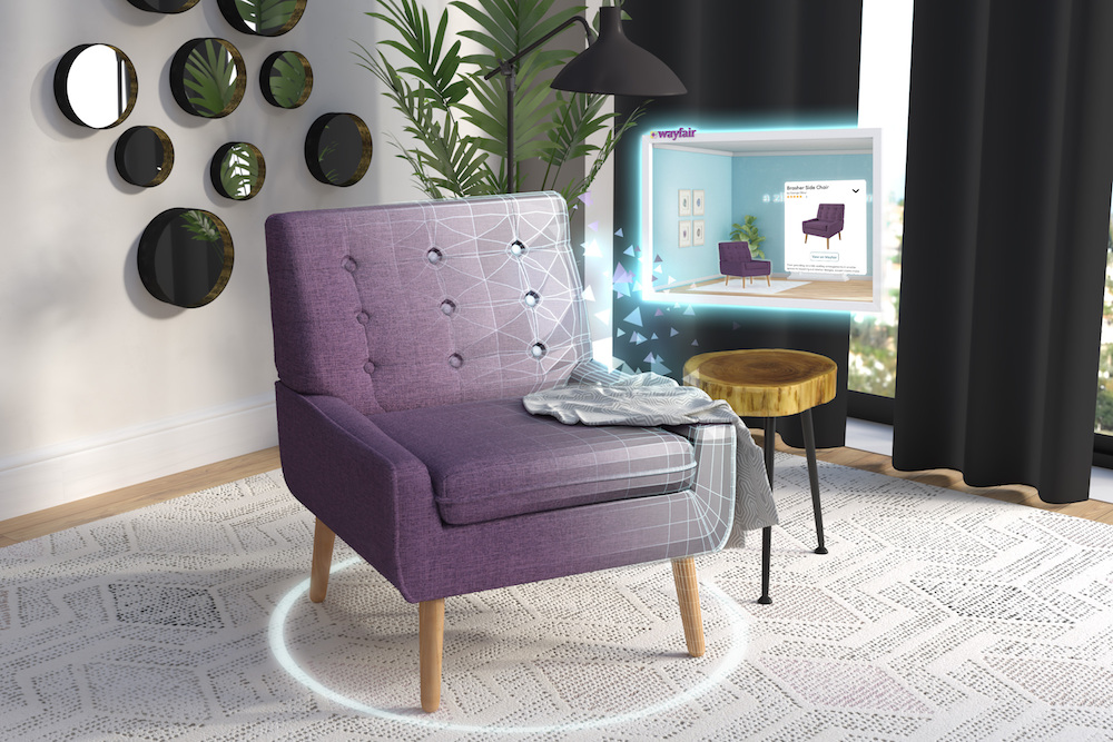 Online Wayfair Shoppers Can Imagine Furniture In Their Home In 3D