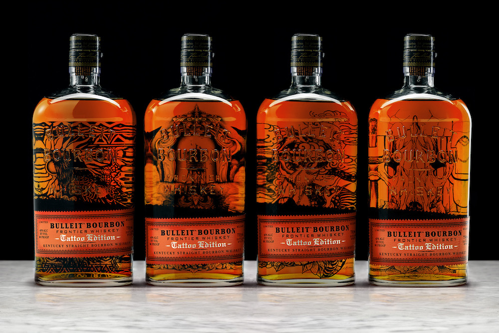Bourbon Brand Brings Tattoo Art To Life With AR-Enabled Bottles