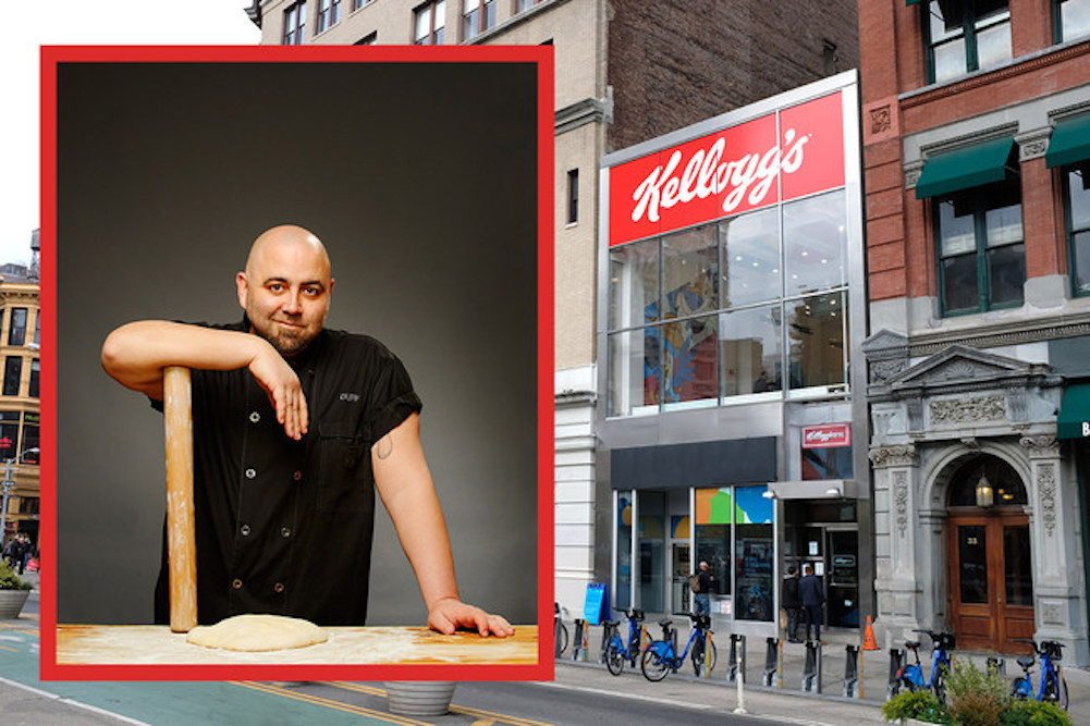 Kellogg's Teams Up With Celebrity Chef To Offer Cereal Culinary Event