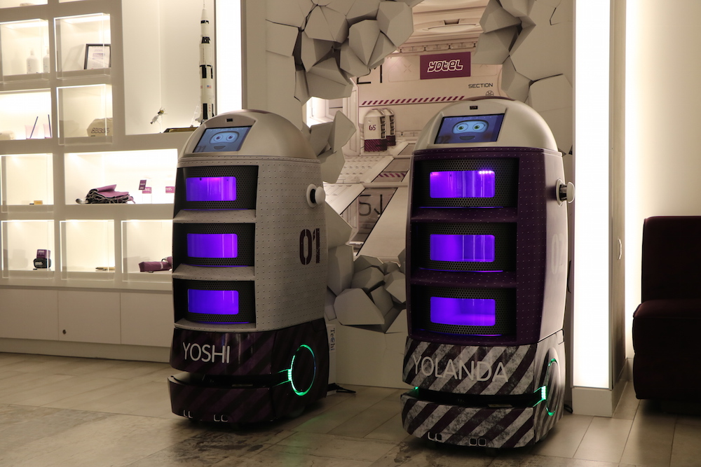 Hotel Offers Team Of Robot Butlers To Provide Guests With Personal Assistance
