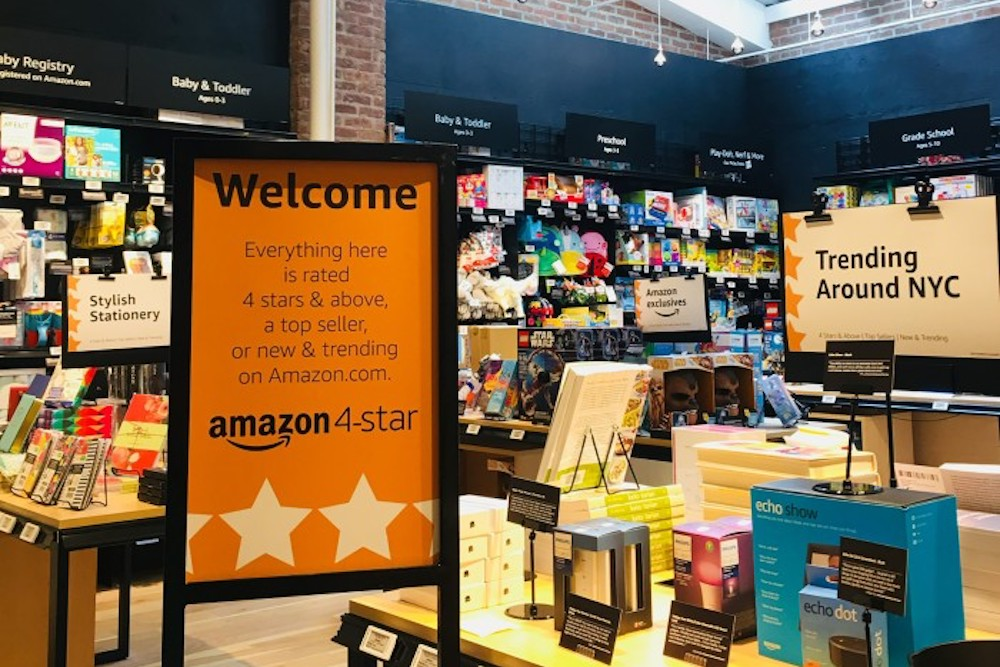 Amazon's New York Store Will Use Consumer Data To Curate Wares