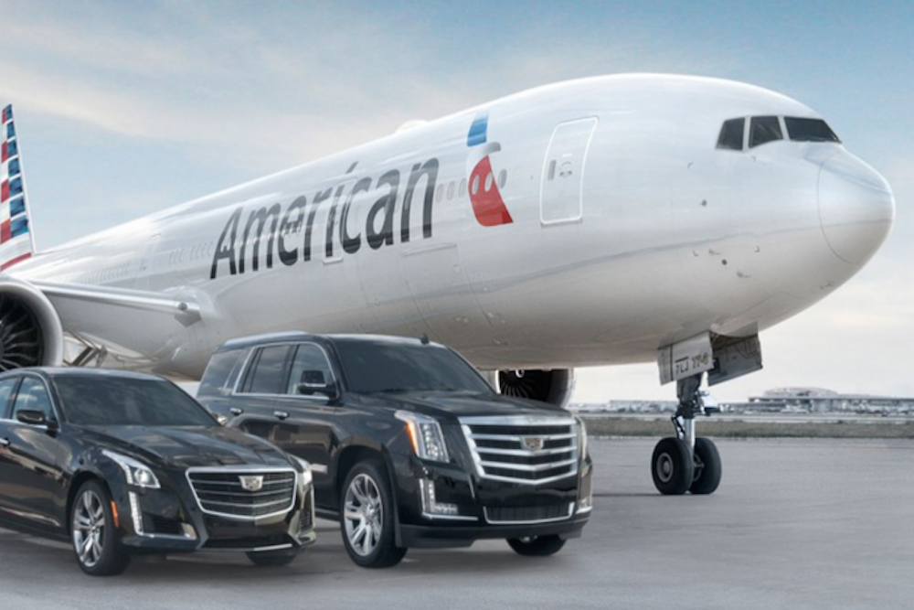 American Airlines Rewards Elite Customers With Tarmac Cadillac Concierge