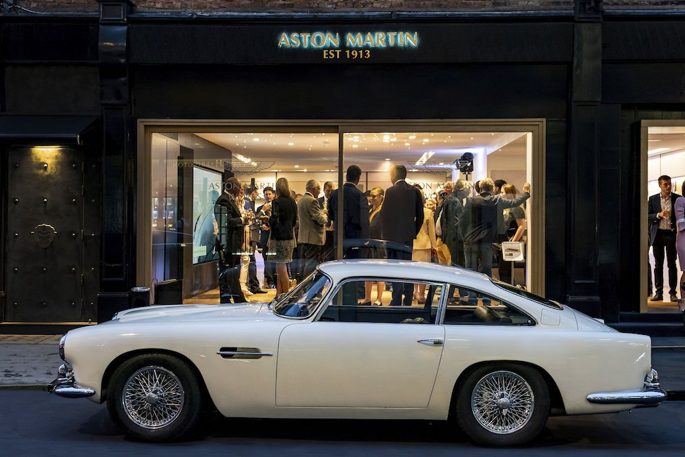 Aston Martin Offers Customers Classic Cars In Heritage-Focused Showroom