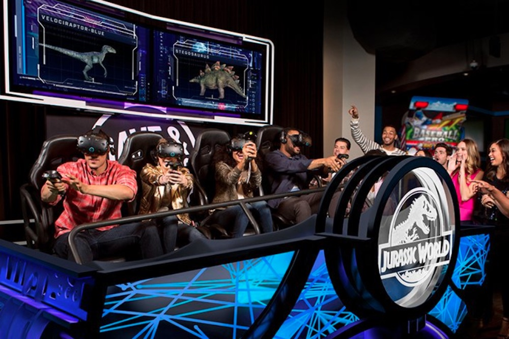 Dave And Busters Offers Gamers A Virtual Reality Arcade Experience