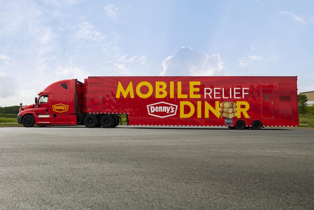 Denny's Mobile Diner Brings Aid To Hurricane Florence Victims