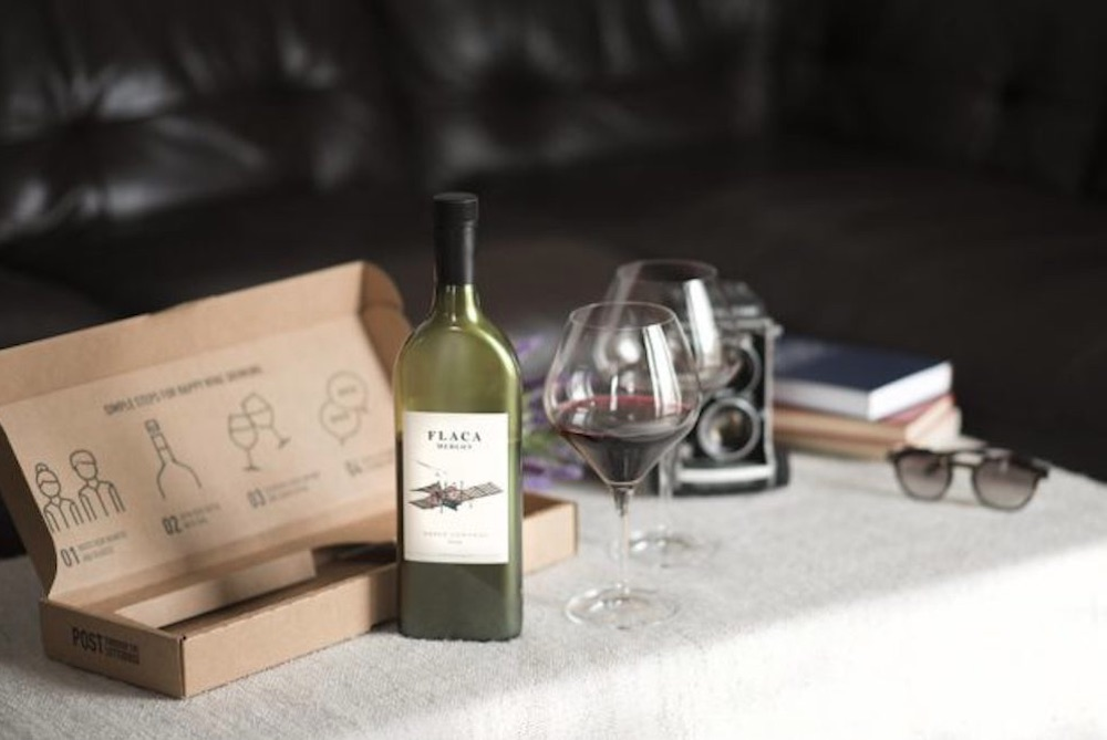 Bottle That Fits In A Letterbox Helps Consumers Buy Wine Online